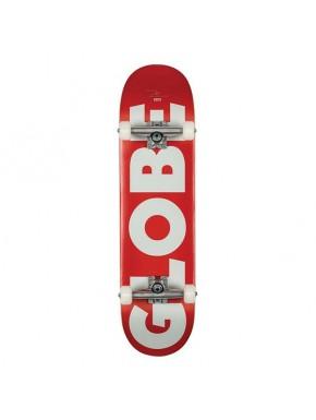 """GLOBE 8.25"""" G0 FUBAR RED/WHITE"""