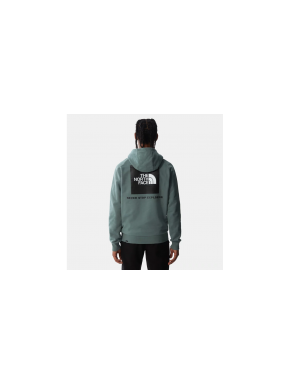 THE NORTH FACE REDBOX HOODIE GREEN