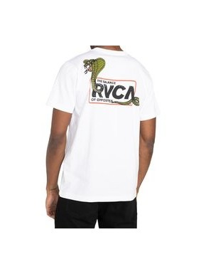 RVCA SNAKE EYES WHITE