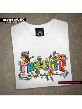 THRASHER DEVIL'S MUSIC LOGO SS