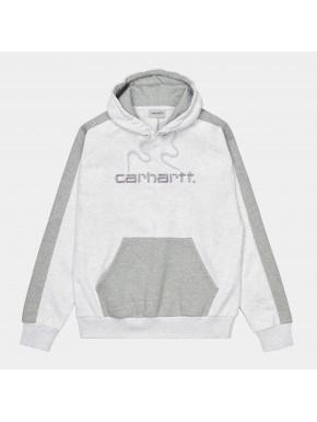 CARHARTT HOODED TONARE SWEAT ASH