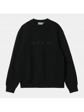 CARHARTT SWEAT BLACK/BLACK