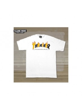 TRASHER FLAME MAG T-SHIRT