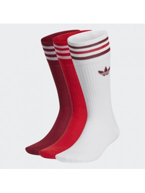 ADIDAS SOLID CREW SOCK 3PACK