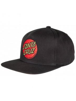 SANTA CRUZ CAP CLASSIC DOT BLACK